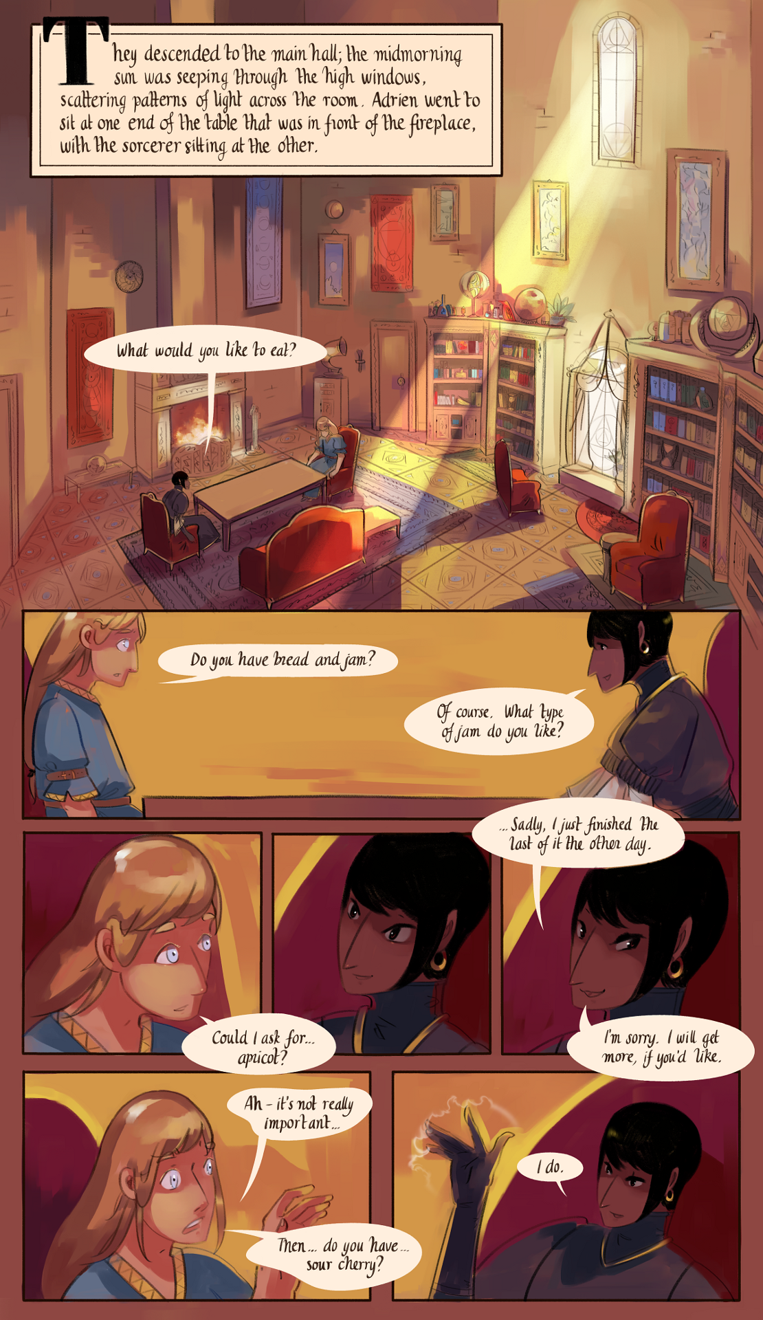 The Gifts of Darkness - Chapter 2 - Page 18