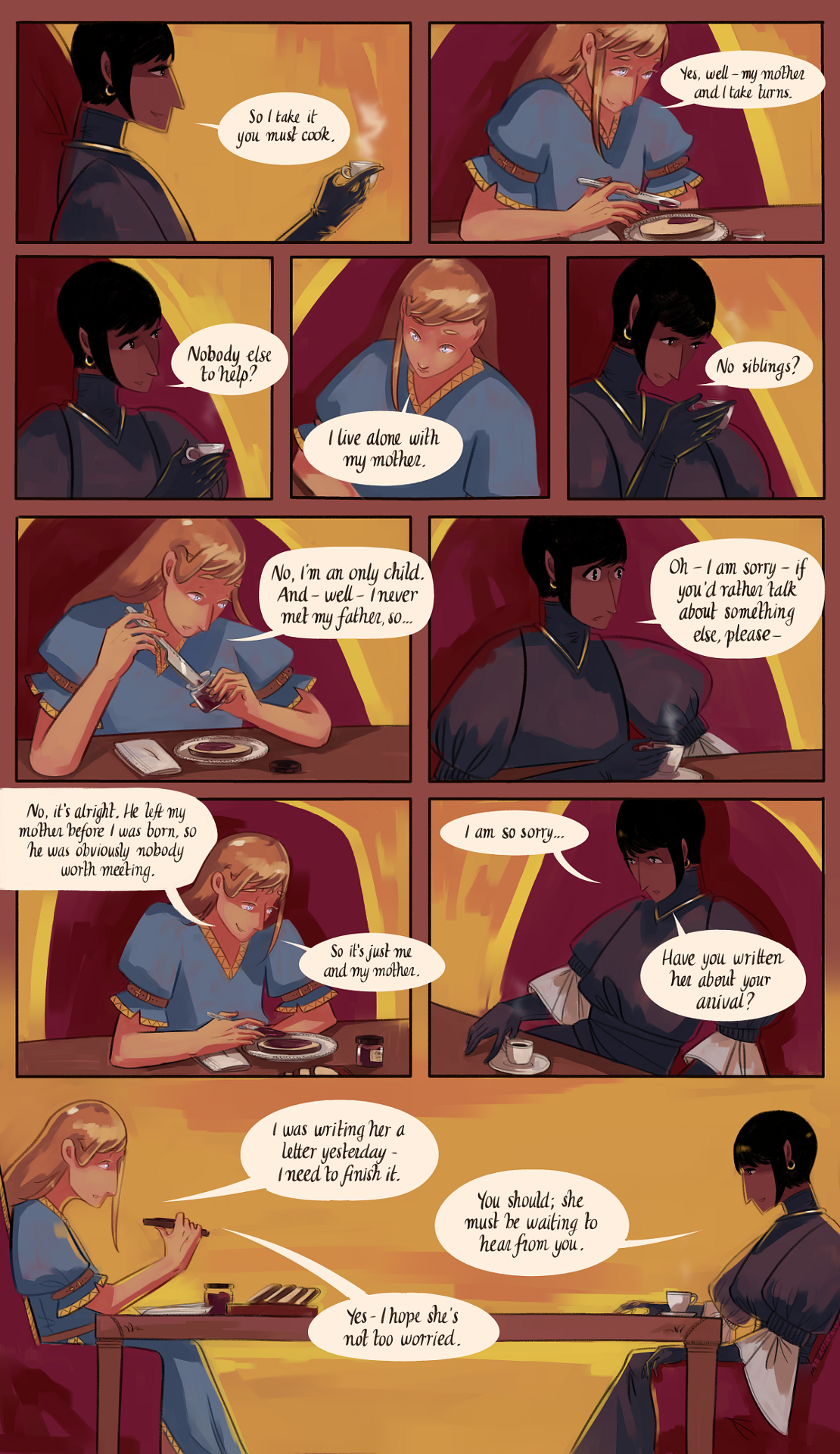 The Gifts of Darkness - Chapter 2 - Page 21