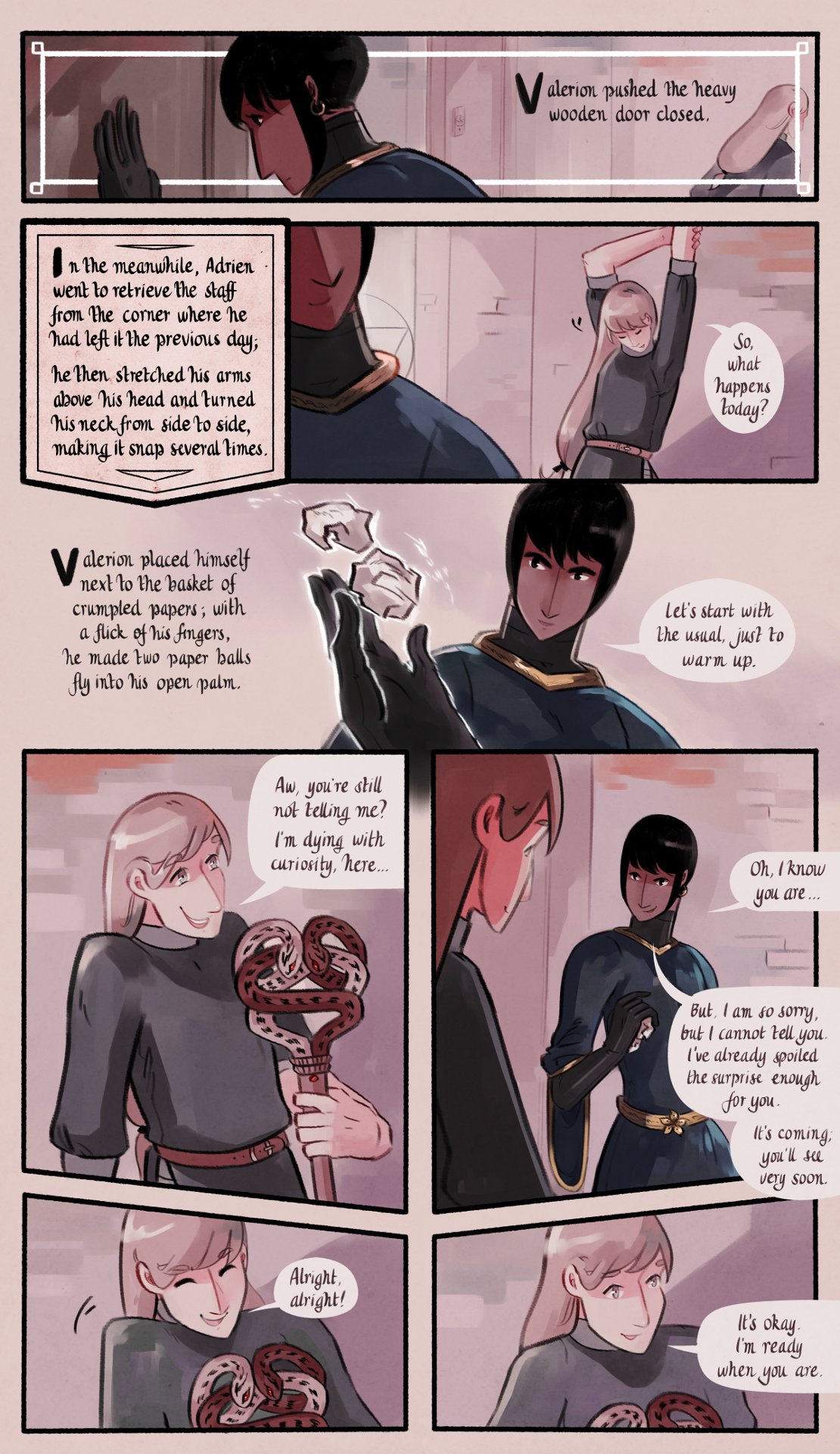 The Gifts of Darkness - Chapter 6 - Page 3