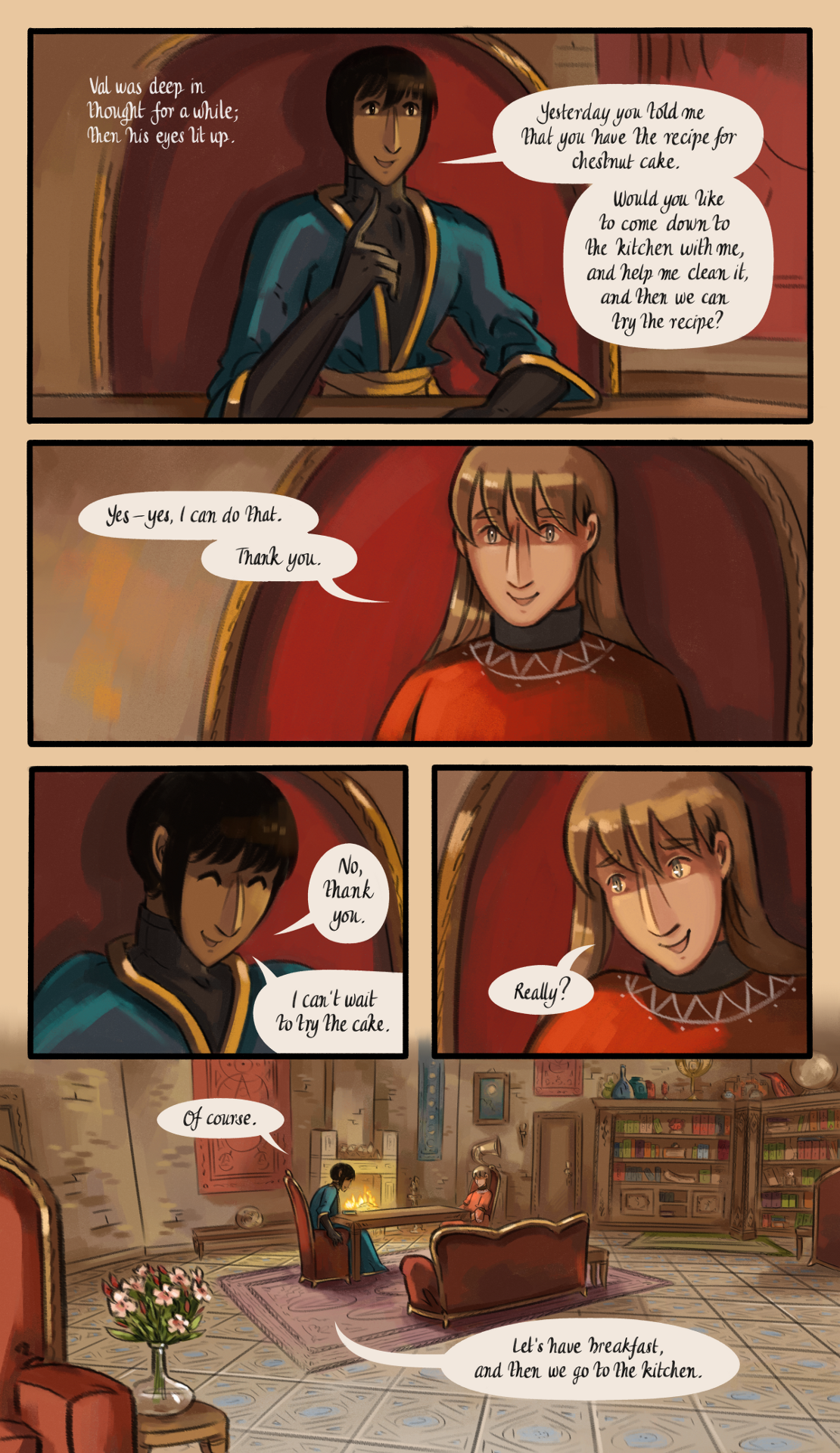 The Gifts of Darkness - Chapter 8 - Page 12