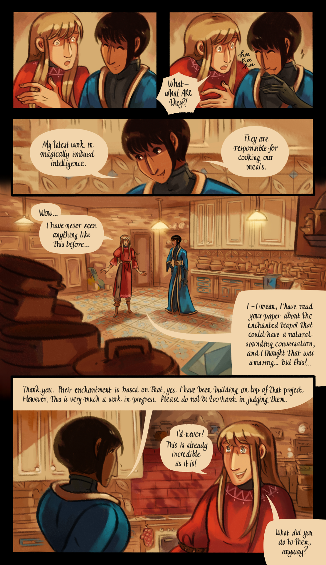 The Gifts of Darkness - Chapter 8 - Page 19
