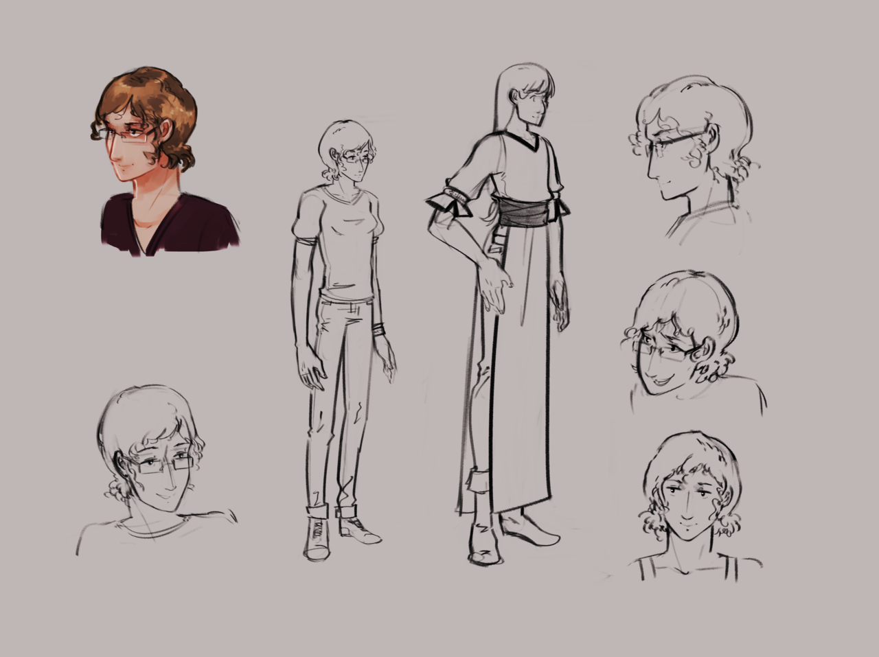 Extras: Danielle reference sheet