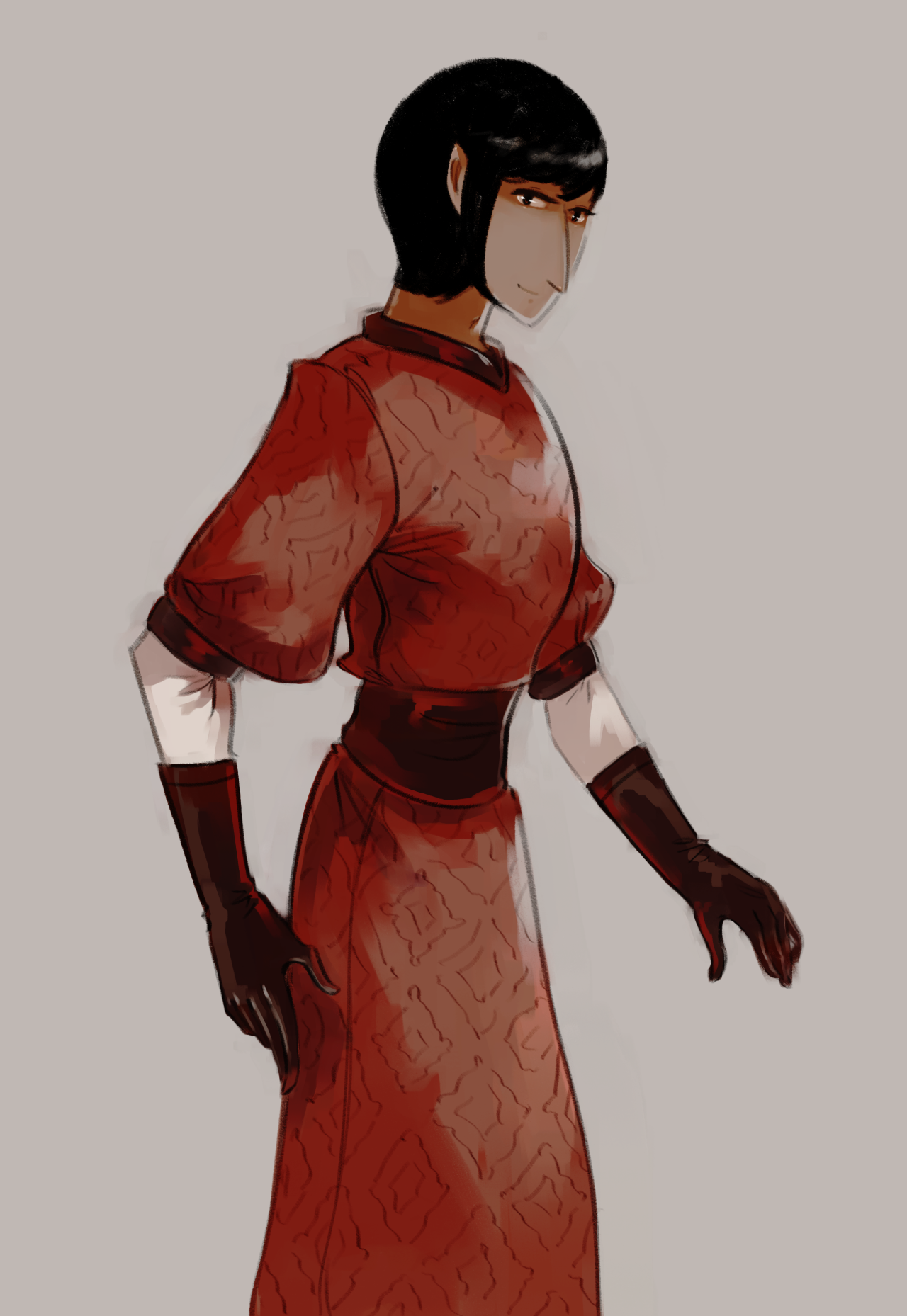 Extras: Val's outfit for Chapter 3
